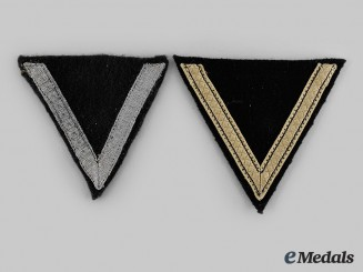 Germany, Wehrmacht. A Pair of Sleeve Chevrons