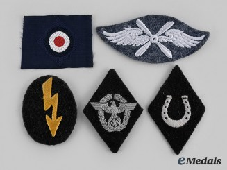 Germany, Wehrmacht. A Lot of Uniform Specialist Insignia