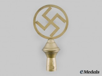 Germany, NSDAP. A Flag Pole Finial