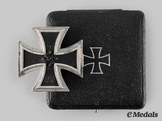 Germany, Wehrmacht. A 1939 Iron Cross I Class, with Case, by Paul Meybauer