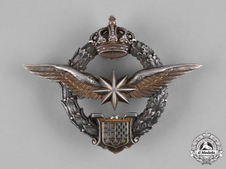 Yugoslavia, Kingdom. An Army Air Service Observer's & Navigator's Badge, by Karnet-Kisely