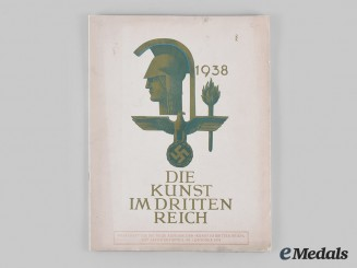 Germany, Third Reich. A 1938 Special Advertisement Edition of Art in the Third Reich