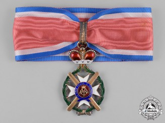 Serbia, Kingdom. An Order of the Cross of Takovo, III Class Commander, by Rothe, c.1890