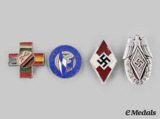 Germany, Third Reich. A Lot of Membership Pins