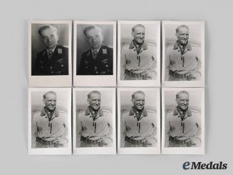 Germany, Luftwaffe. A Lot of Photographs of Hans-Ulrich Rudel