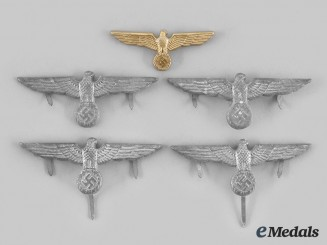 Germany, Heer. A Lot of Army Visor Eagles
