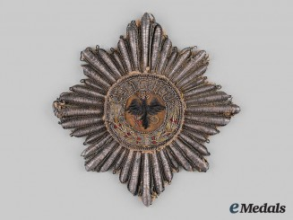 Prussia, State. A High Order of the Black Eagle, Schabrackenstern Grand Cross Star