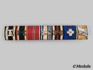 Germany, Wehrmacht. An Extensive First & Second War Period Ribbon Bar
