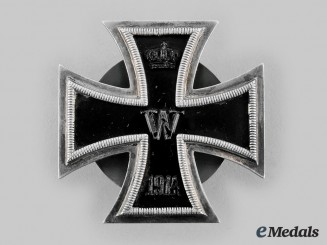 Germany, Imperial. A 1914 Iron Cross, I Class, by Carl Dillenius