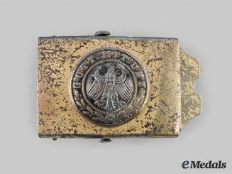 Germany, Weimar. A Reichsheer Youth Belt Buckle