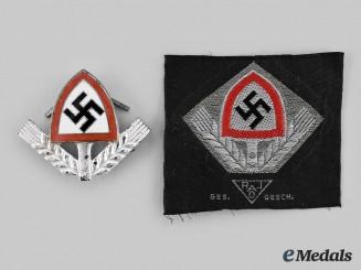 Germany, RAD. A Set of RAD Uniform Insignia