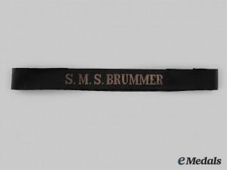 Germany, Kaiserliche Marine. An S.M.S Brummer Cap Talley