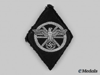 Germany, SS. A Former NSKK Member Volunteer with Death Head Units Sleeve Diamond