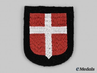 Germany, SS. A Waffen SS Danish Volunteer Sleeve Shield