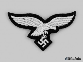 Germany, Luftwaffe. A Hermann Göring Unit Panzer Cap Eagle