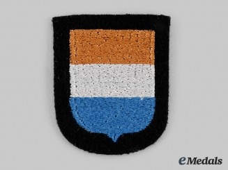 Germany, SS. A Waffen-SS Dutch Volunteer Arm Shield