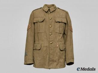 Canada, CEF. A Sergeant Service 5 Button Dress Tunic