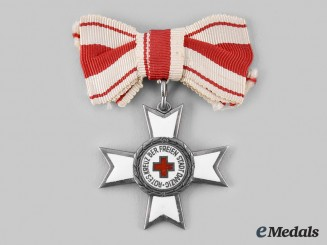 Danzig, Free City. A Cross of Merit of the Red Cross, II Class, c.1934