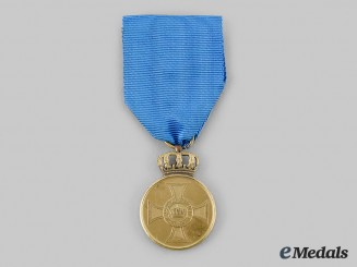 Prussia, Kingdom. A Gold Medal Order of the Crown, c.1900