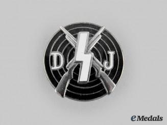 Germany, DJ. A Deutsches Jungvolk Marksmanship Badge, by Eugen Schmidthäussler