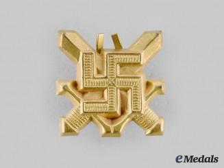Finland, Republic. A White Guard Service Badge