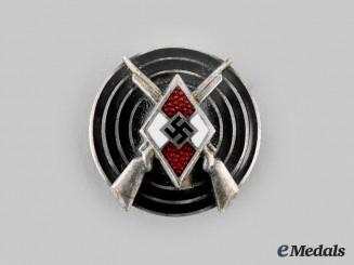 Germany, HJ. A Marksmanship Badge, by Matthias Oeschler & Sohn