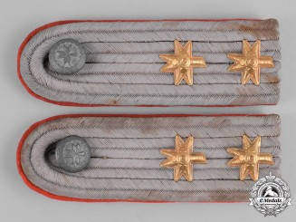Croatia, Independent State.Shoulder Boards of an Air-Force Lieutenant 1st Class