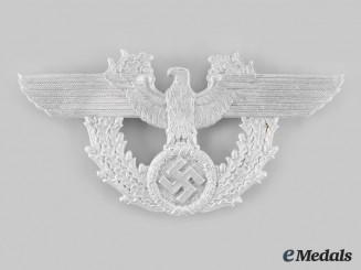 Germany, Third Reich. A Gendarmerie/ Schutzpolizei Shako Plate