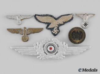 Germany, Wehrmacht. A Lot of Insignia