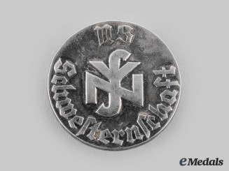 Germany, Third Reich. A German Social Welfare Association Membership Badge