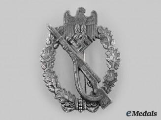 Germany, Heer. An Infantry Assault Badge, Silver Grade, by E. Ferd. Wiedmann