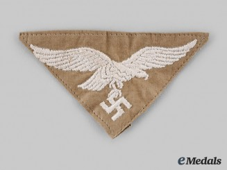 Germany, Luftwaffe. A EM/NCO's Tropical Tunic Breast Eagle