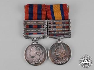 United Kingdom. A Hazara Expeditions & Boer War Pair, Seaforth Highlanders