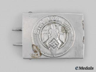 Germany, HJ. An EM/NCO's Belt Buckle, by F.W. Assmann & Söhne