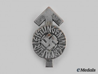 Germany, HJ. A Proficiency Badge, Silver Grade, by Gustav Brehmer