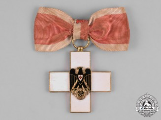Germany, Third Reich. Red Cross Decoration, Ladies Cross