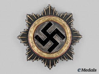 Germany, Third Reich. A German Cross in Gold, by C.F. Zimmermann