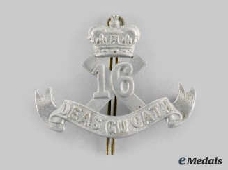 "Canada, CEF. A 16th Infantry Battalion ""Canadian Scottish"" Cap Badge"