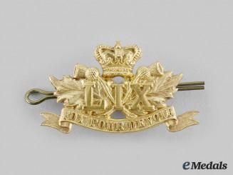 Canada, Dominion. A 59th Stormont & Glengarry Regiment Cap Badge, c.1900