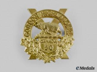 Canada, CEF. A 50th Regiment (Gordon Highlanders of Canada) Sporran Badge