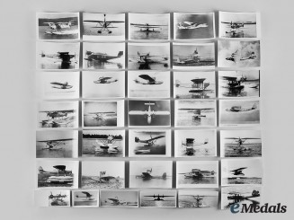 Germany, Third Reich. A Lot of Photographs and Postcards of Aircraft and Seaplanes
