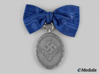 Germany, RAD. A Reich Labour Service Long Service Badge, II Class for 18 Years, Women's Version
