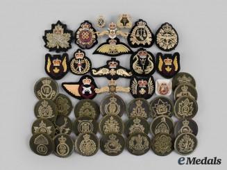 Canada, Commonwealth. A Lot of Forty Assorted Badges