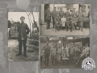 Germany, Imperial Army. Three Wartime Postcards from Soldier to his Wife