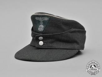 Germany, SS. A Waffen-SS EM/NCO's M43 Field Cap