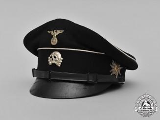 Germany, SS. An Allgemeine SS M34 EM/NCO's Visor Cap