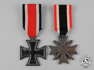 Germany, Third Reich. Two Medals & Decorations, by J.E. Hammer & Söhne, & Otto Schickle