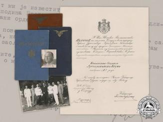 Yugoslavia, Kingdom. The Documents and Correspondence of Janko Markićević