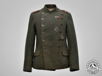 German, Imperial. A Württemberg Jasta 10 Pilot Tunic, to Lieutenant Oskar Barth
