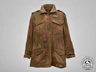 Canada. A Denison Smock of Sergeant Gus Parker,1st Canadian Parachute Battalion, D-Day Invasion